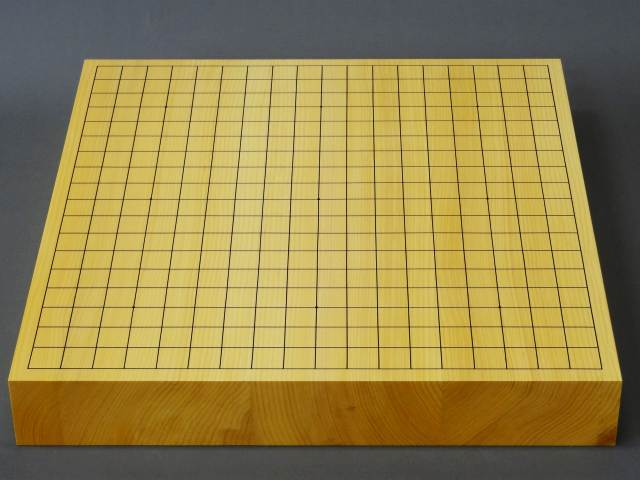Japanese Kaya Table Go Board [6cm thick, Straight grain]