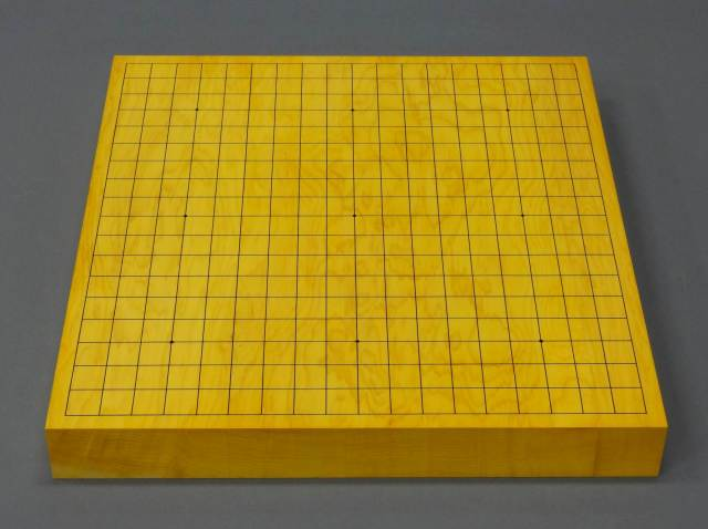 Japanese Kaya Table Go Board [6cm thick, Figured grain]